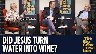 Did Jesus turn water into wine? Prof John Lennox debates atheist Prof Michael Ruse