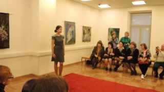 Показ коллекции Екатерины Щукиной. Закрытый показ 2013.