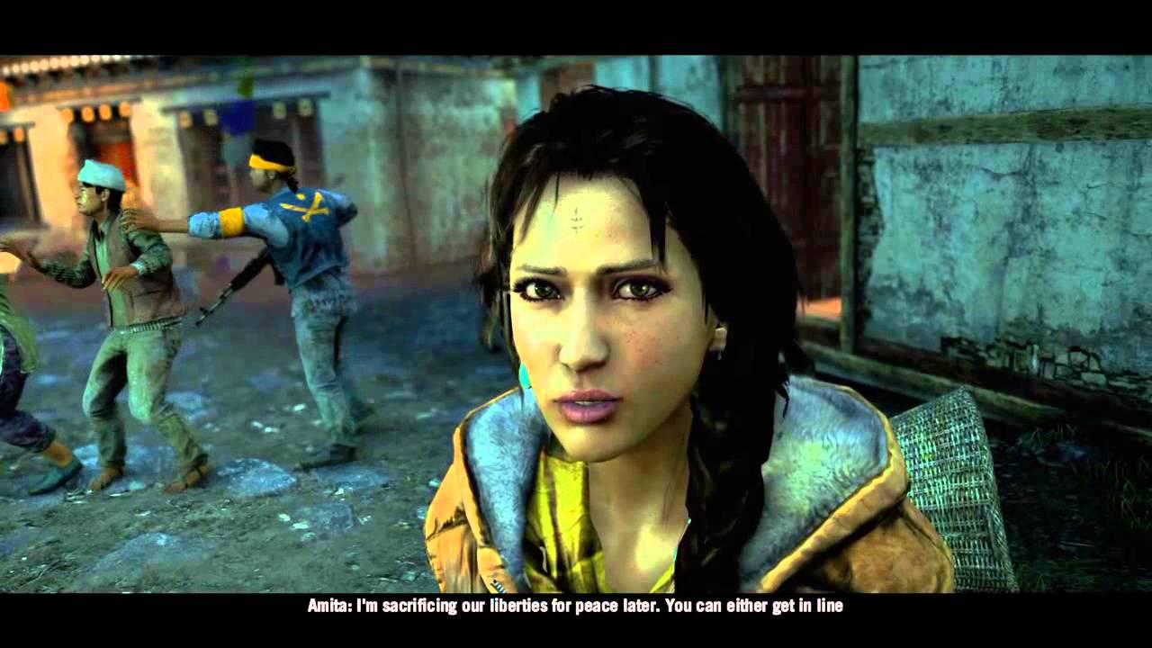 Far Cry 4 - Amita Ending - YouTube