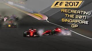 F1 2017 GAME: RECREATING THE 2017 SINGAPORE GP