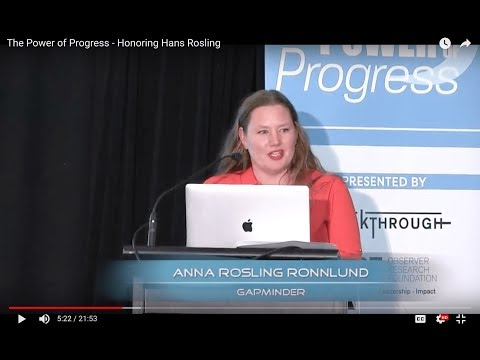 The Power of Progress - Honoring Hans Rosling