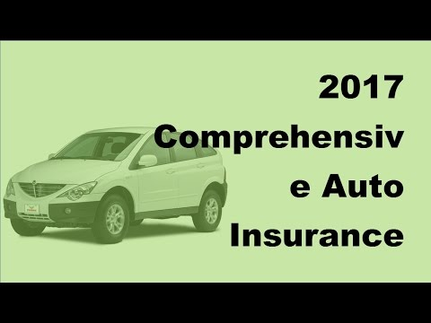 2017 Comprehensive Auto Insurance FAQs  |  How Does Comprehensive Auto Insurance Work