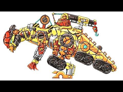 Repair! Dino Robot #11: Pachycephalosaurus (4 Color Armors)   Eftsei Gaming