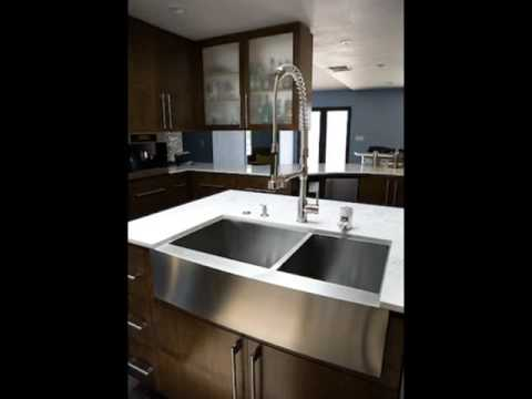 Stainless Steel Farmhouse Sinks U0026 Undermount Sinks   YouTube