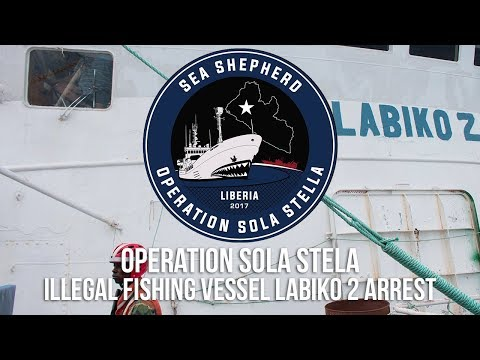 Operation Sola Stella: Arrest of Notorious Internationally-Blacklisted Fishing Vessel Labiko 2