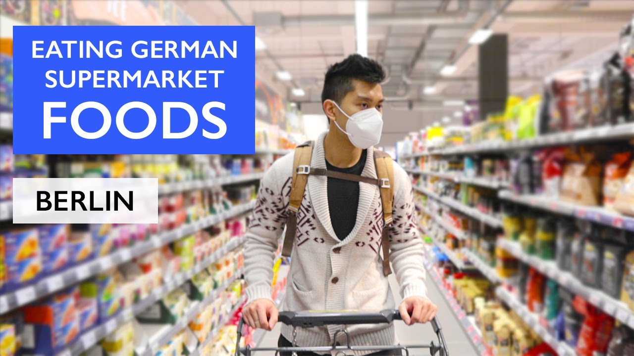 Download Trying GERMAN Foods and GROCERY SHOPPING in a German Supermarket