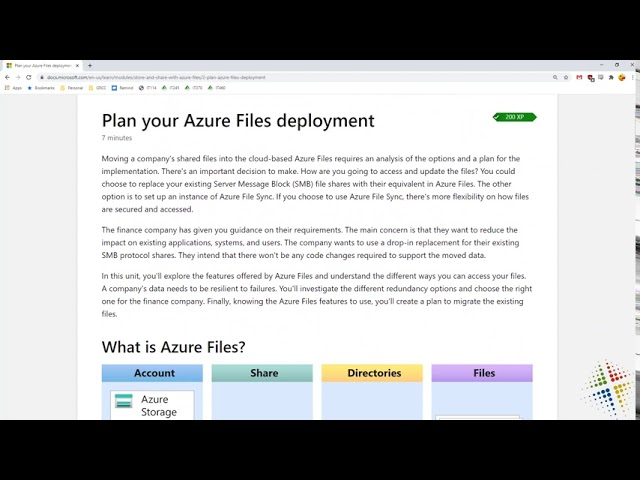 Store and share files in your application with Azure Files
