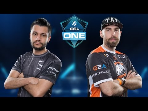 CS:GO - SK Gaming vs. Virtus.Pro [Mirage] Map 1 - ESL One New York 2016 - Semifinal