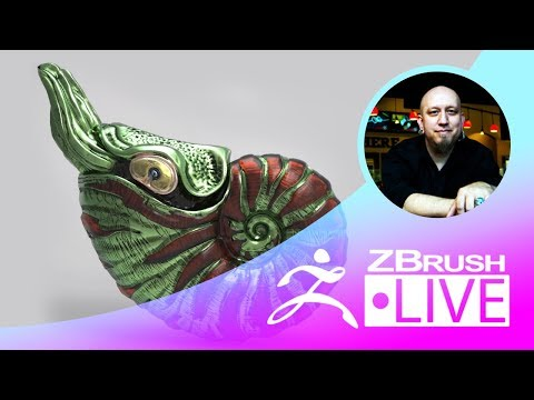 T.S. Wittelsbach - Sculpting, 3D Printing & ZBrush - Episode 15