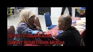 Donor Darah Dalam Rangka Hari Bhakti PAS Ke-55 Kanwil Kemenkumham Kalbar