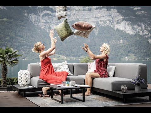 allwetter outdoor lounge sunbrella fabric erklärungs video