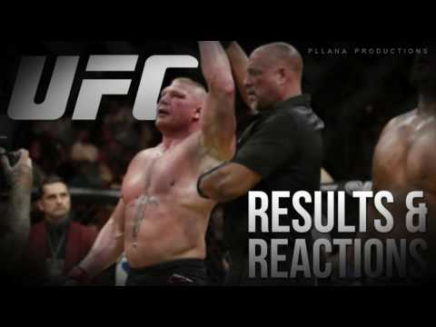 UFC 200 - Brock Lesnar vs Mark Hunt...