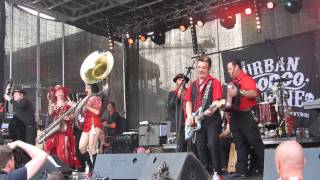 The Urban Voodoo Machine - Train Wreck Blues @Powerfestival Belgium 14/7/13