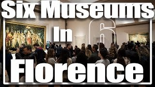 6 Great Museums in Florence, Italy