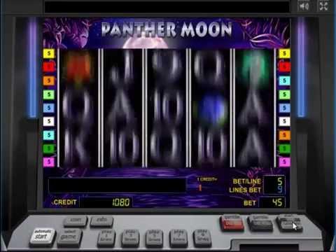 Обзор игрового автомата Panter Moon