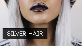 HAIR | Ombre Silver Hair! Evawigs Review Thumbnail