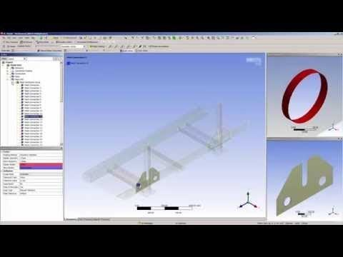 ANSYS Mechanical: Mesh Connection