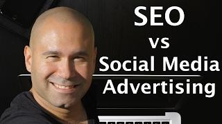SEO vs Social Media Advertising