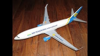BIGGEST AEROPLANE TOY BUMP AND GO STYLE AIRBUS VIDEO FOR KIDS AIRPLANES CRASH UNBOXING