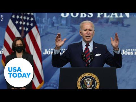 President Biden and VP Harris address nation regarding Derek Chauvin verdict   USA TODAY