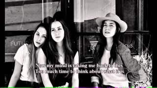 Better Off - Haim - Lyrics on Screen (HD)