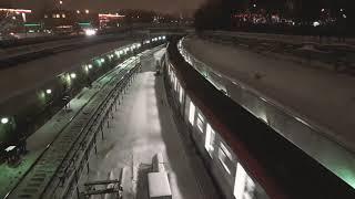 Новый Поезд в метро МОСКВА