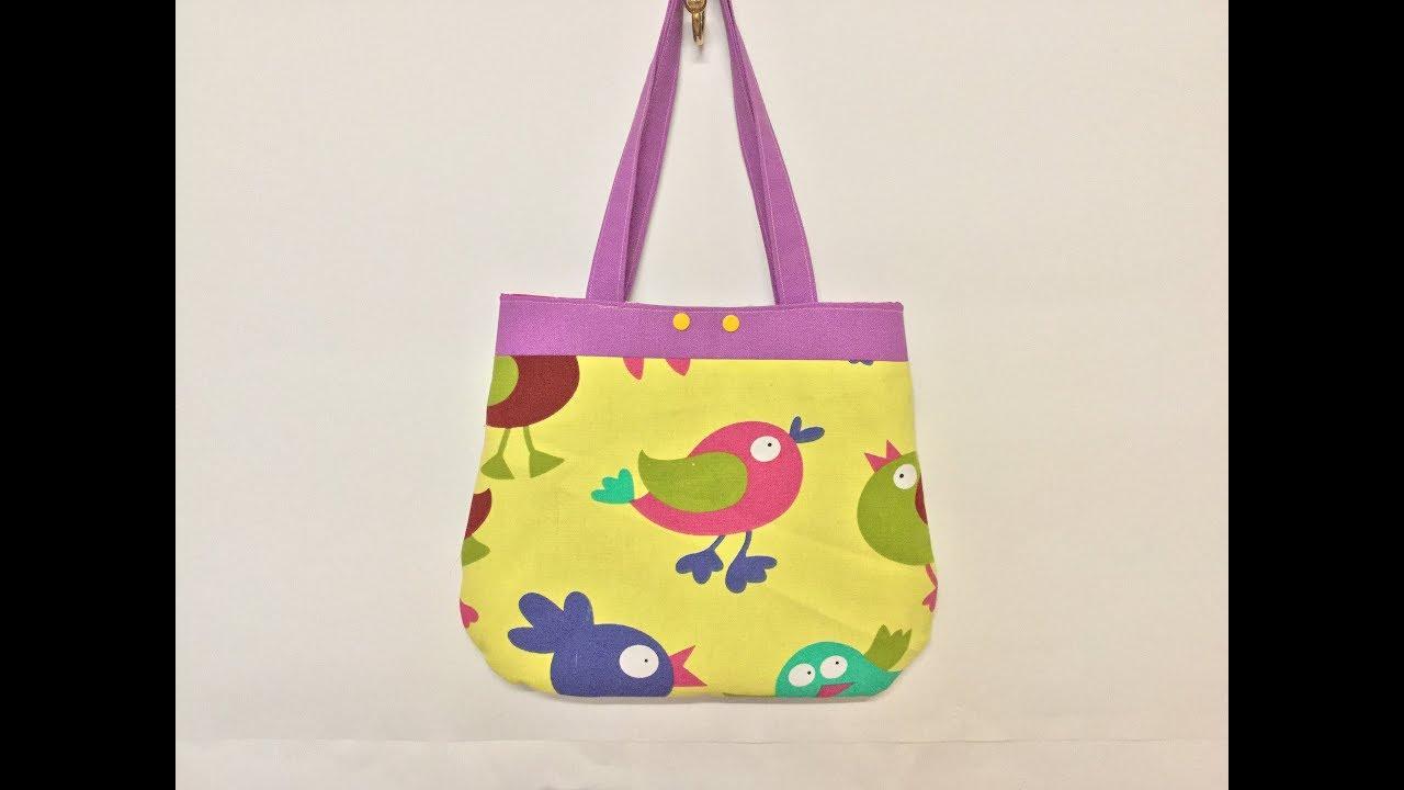 Assez Couture Madalena coudre un sac pour jeune fille - YouTube JA78
