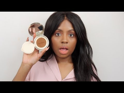 TRYING THE DARKEST SHADE OF A KOREAN FOUNDATION   SULWHASOO