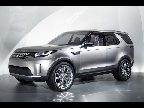 Land Rover Discovery Vision Concept First Look