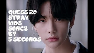 Can You Guess 20 Stray Kids SONGS? - FOR REAL STAY's