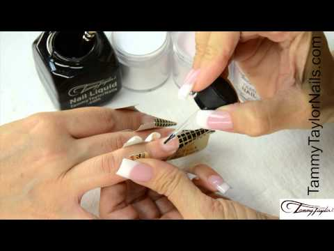 Tammy Taylor Ombre and Fade French Nail Demos