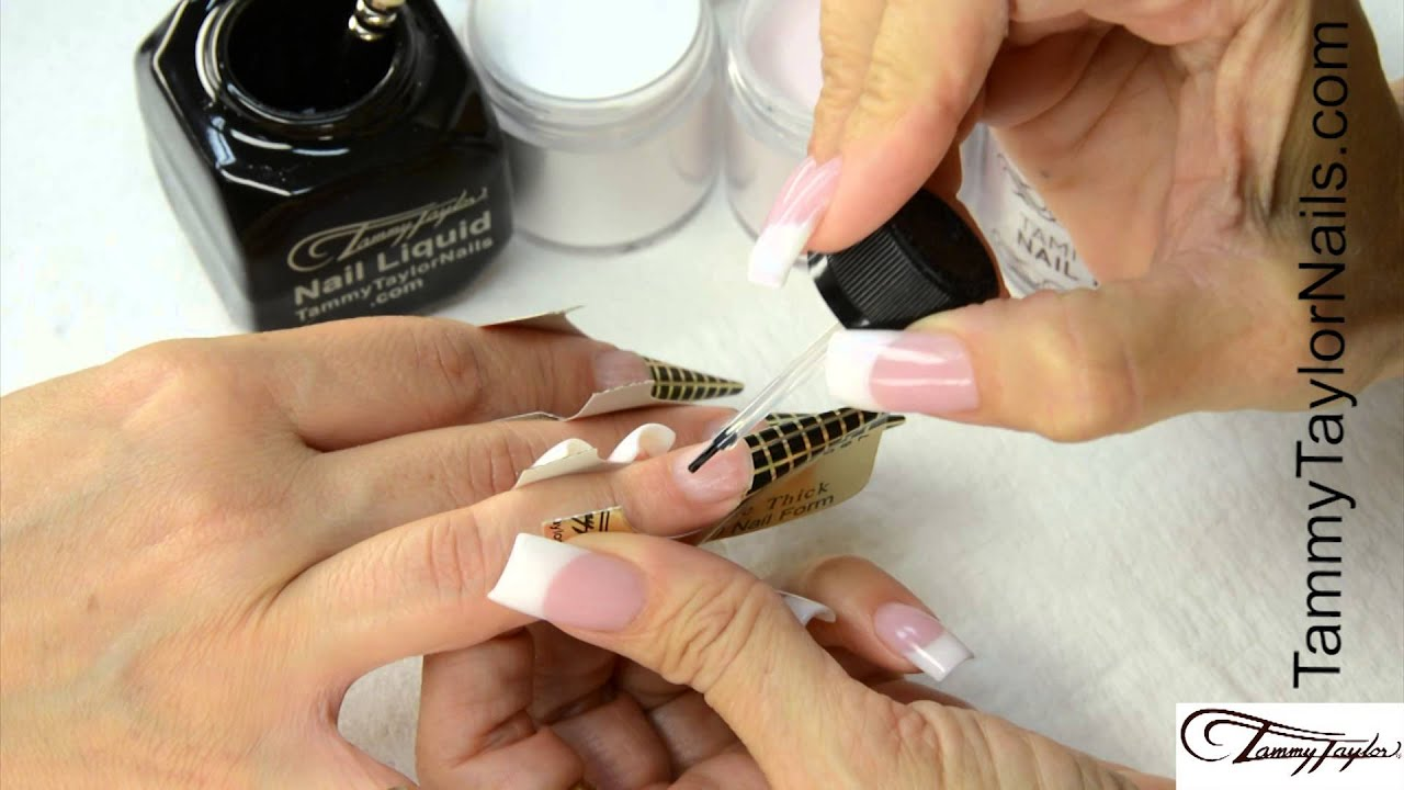 ♡ Tammy Taylor Ombre and Fade French Nail Demos - YouTube