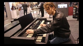 NAMM 2019 Hammond Porta-B vs 1965 Hammond B3 Organ