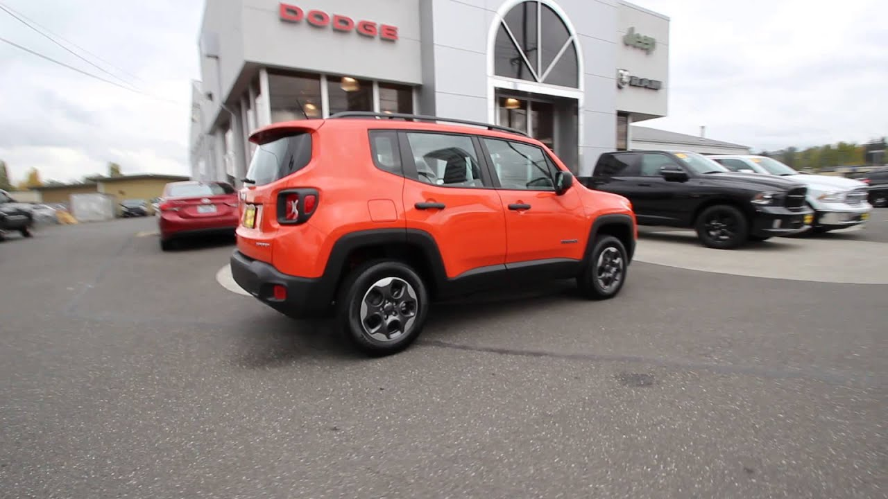 2015 jeep renegade sport omaha orange fpc17243 mt vernon skagit youtube. Black Bedroom Furniture Sets. Home Design Ideas