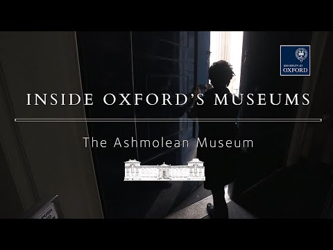 Inside the Ashmolean Museum