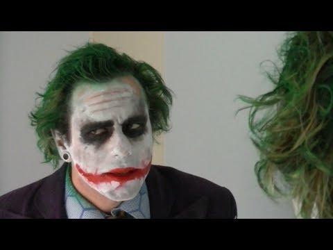 Becoming The Joker (makeup tutorial)
