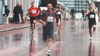 Armando Manoku with the insane finish in the 400M