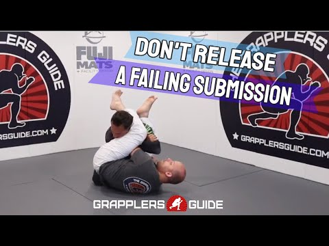 Don't Release A Failing Submission When You Can Sweep Instead by Jason Scully
