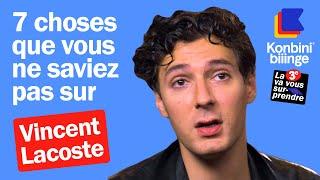 Vincent Lacoste raconte sa cuite avec Gérard Depardieu et Benoît Poelvoorde  Konbini