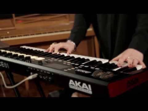 Akai Pro Advance Keyboards - Artist Preview
