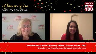 Nandini Ramani, Outcome Health – 2020 PharmaVOICE 100 Celebration
