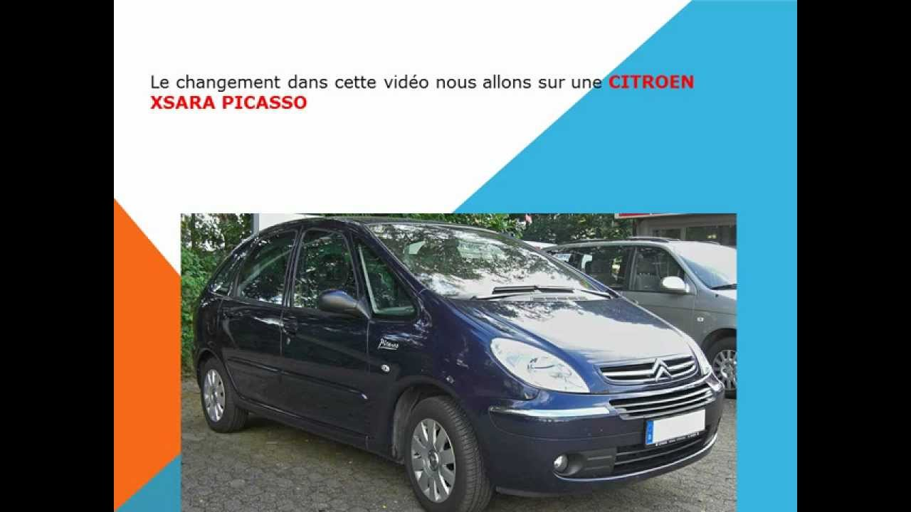 comment changer le filtre d 39 habitacle filtre anti pollen du citroen xsara picasso youtube. Black Bedroom Furniture Sets. Home Design Ideas