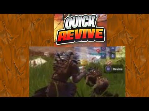 Fortnite Quick Revive Teammates Glitch | PC/Console/Switch
