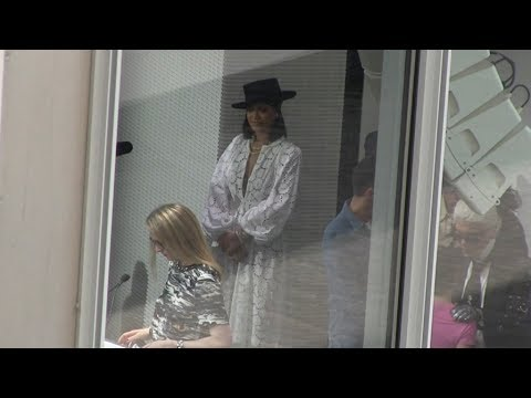 Rihanna at 2017 LVMH Prize Young Fashion Designer in Paris