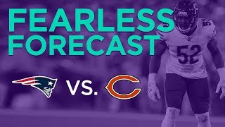 New England Patriots at Chicago Bears Week 7 fantasy football preview