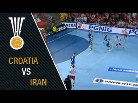 IHF 2015 WChps Croatia - Iran Highlights