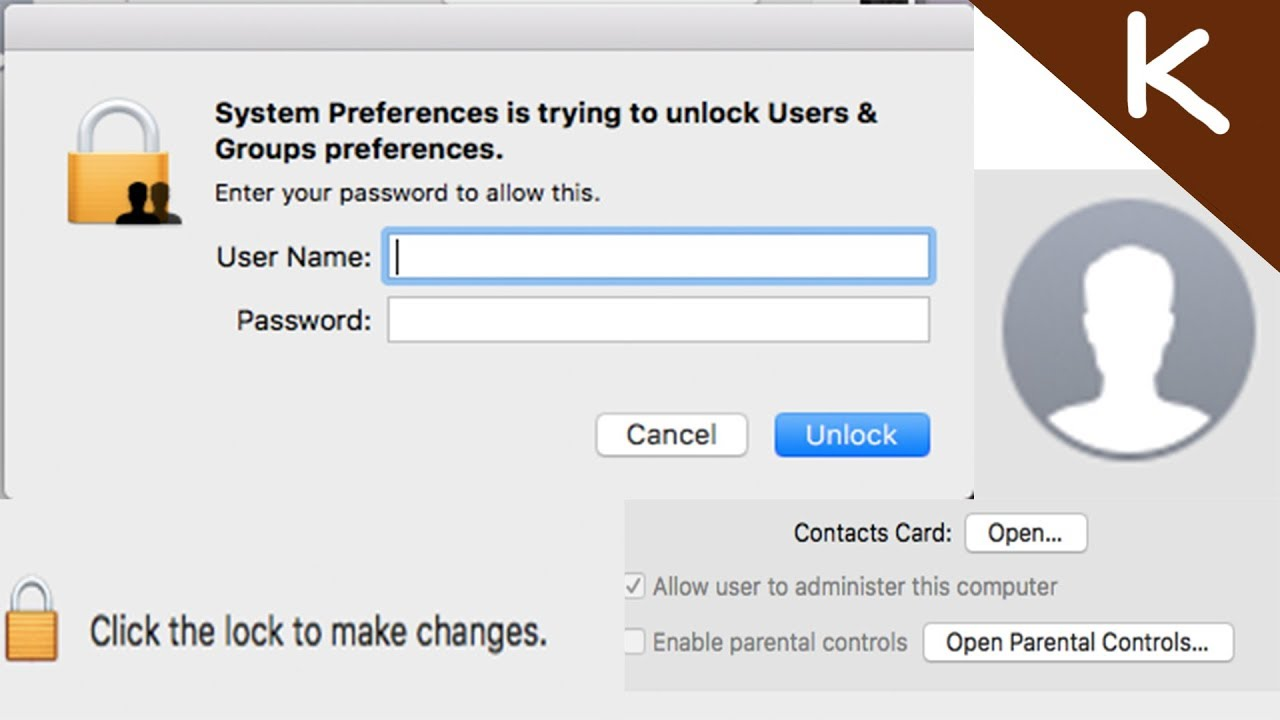 How to get admin password on a school or work mac