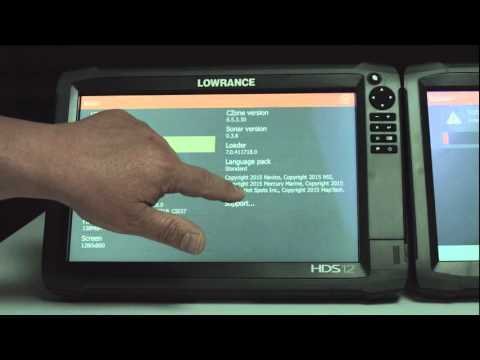 How to Create a Service Report with your Lowrance HDS Gen3