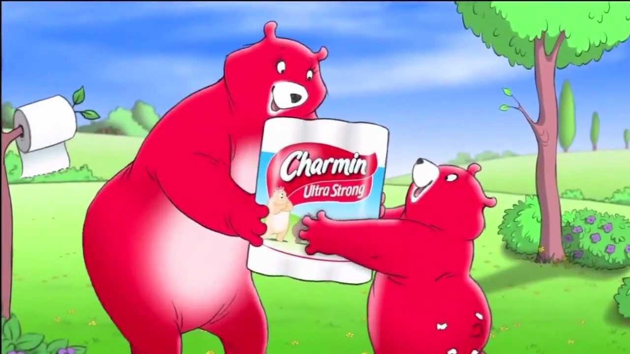 Charmin Toilet Paper Bear Parody
