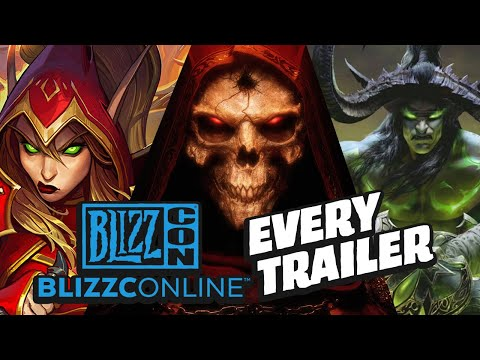 Every Blizzcon 2021 Trailer